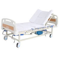 A-191 Multifunctional Manual Turn-over Nursing Bed with ABS Bed Head