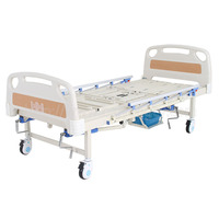 A-190 Multifunctional Manual Turn-over Nursing Bed with ABS Bed Head