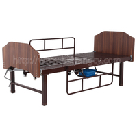 A-188(C) Multifunctional Manual Turn-over Nursing Bed with Wood Bed Head