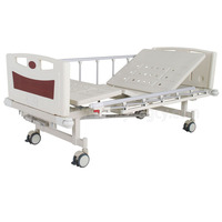 A-73 Two-function Manual Bed with ABS Bed Head