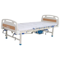 A-194 Multifunctional Manual Turn-over Nursing Bed with ABS Bed Head