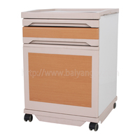 C-100 ABS And Steel Intergrated Bedside Cabinet