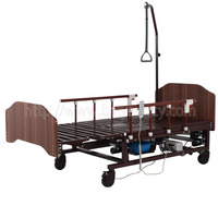A-185(B) Multifunctional Electric Turn-over Nursing Bed with ABS Bed Head