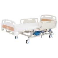 A-192(B) Multifunctional Manual Turn-over Nursing Bed with ABS Bed Head