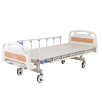A-77(B)Two-function Manual Bed with ABS Bed Head